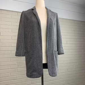 Express Black and White Blazer